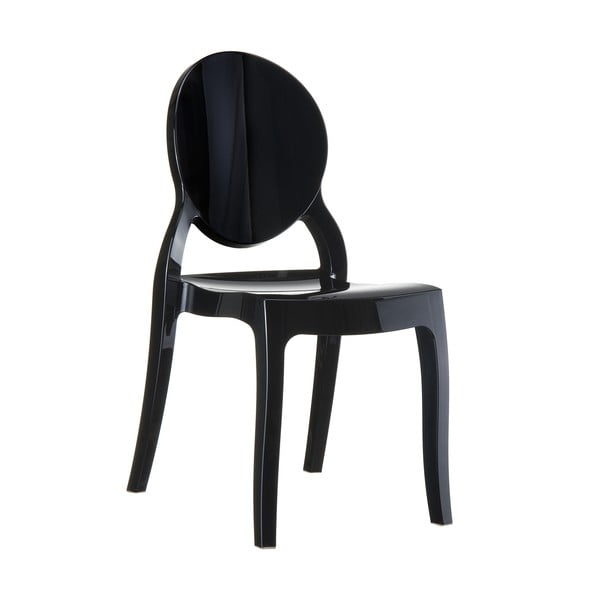 Židle Elizabeth Clear Black