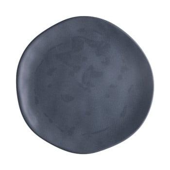 Farfurie din porțelan pentru pizza Brandani Pizza, ⌀ 20 cm, gri închis de la Brandani