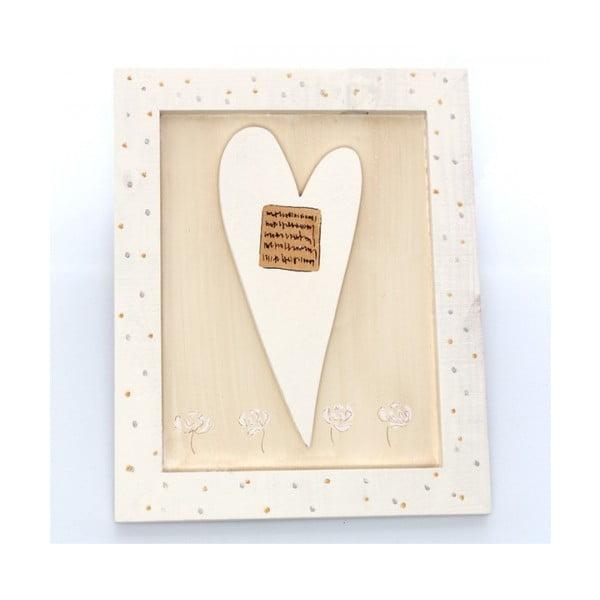 Obrázek dřevěné srdce