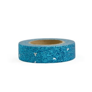 Washi páska Ohh Deer Blue Glitter