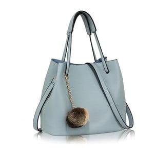 Světle modrá kabelka L&S Bags Vesinet