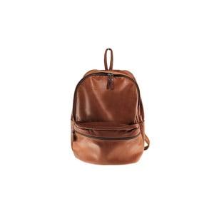 Kožený batoh Dina Marrone