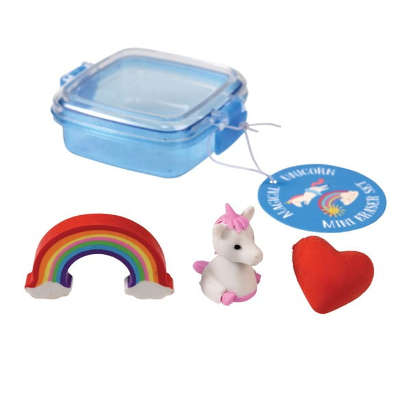 Set 3 gume de şters Rex London Magical Unicorn