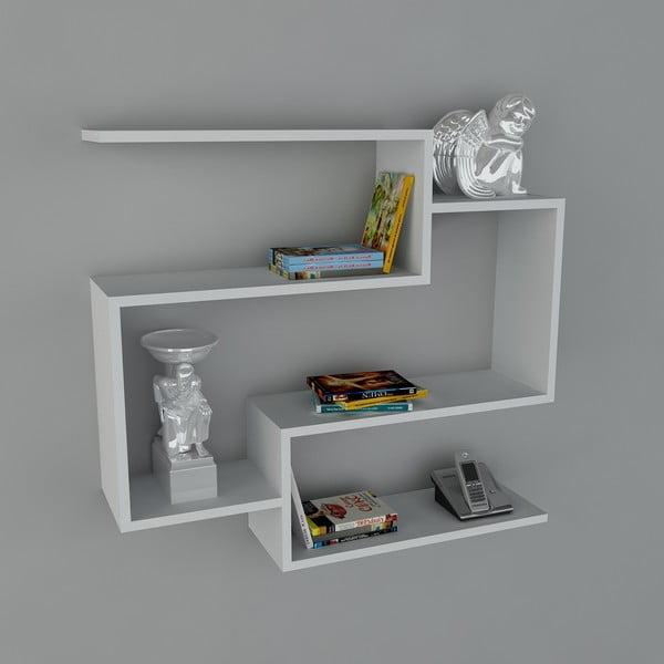 Police Porto Book White, 22x90x82 cm