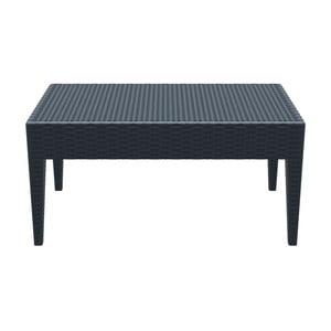 Stůl Miami Lounge, tmavě šedý