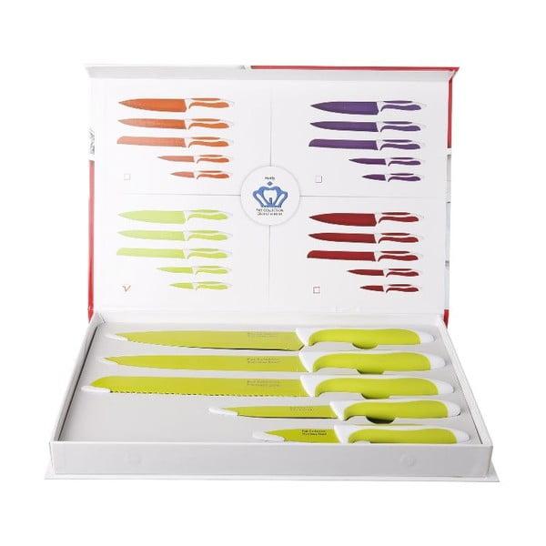 Set 5 ks nožů Yellow Cut