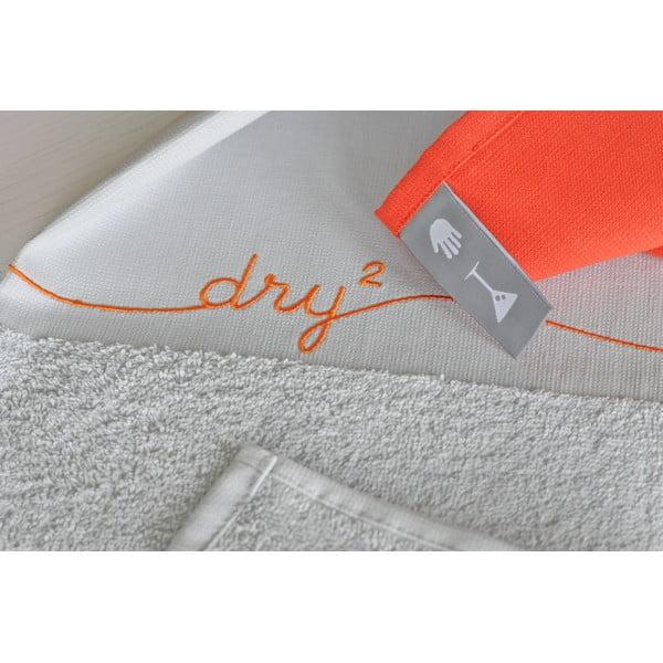 Utěrka Dry, bílá/barevná