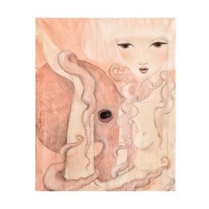 Autorský plakát od Lény Brauner Oktopus, 60x72 cm
