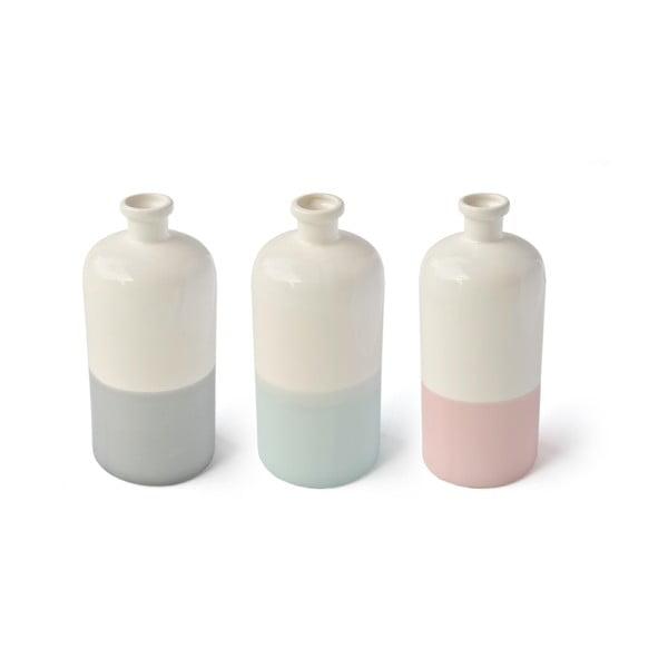 Béžovo-mentolová váza Hawke&Thorn Parker
