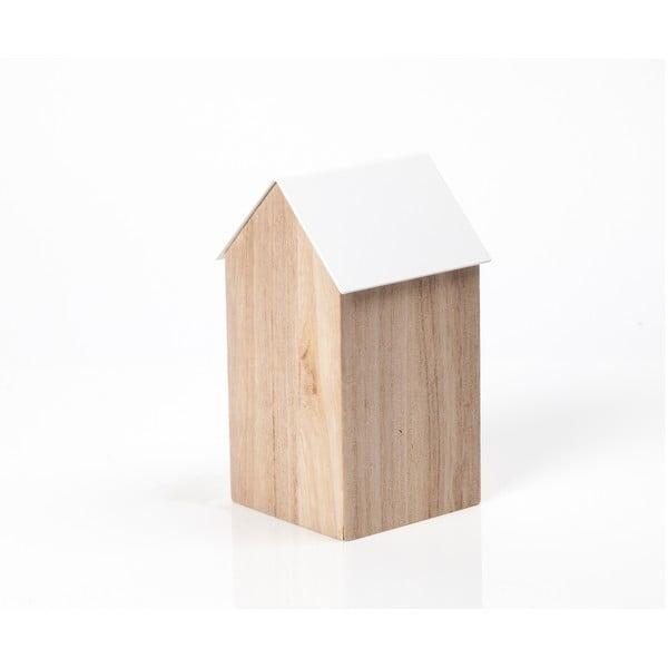 Bílý úložný box House Medium