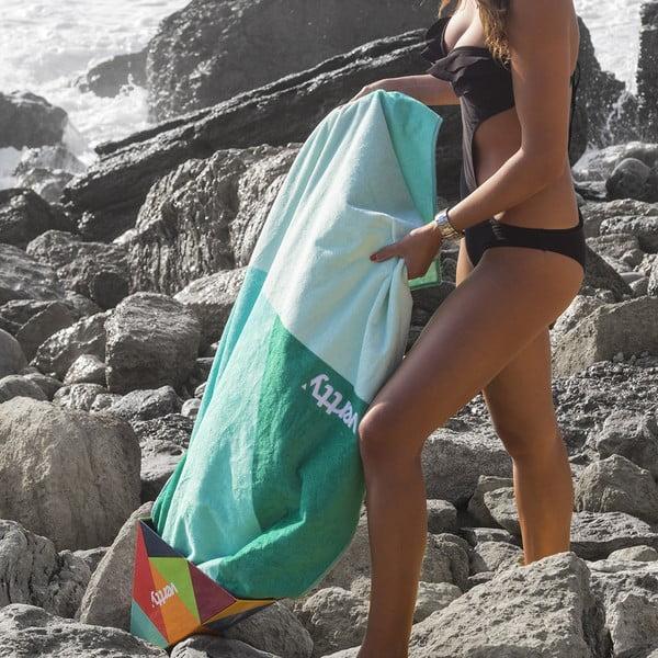 Designová plážová osuška Vertty Jade