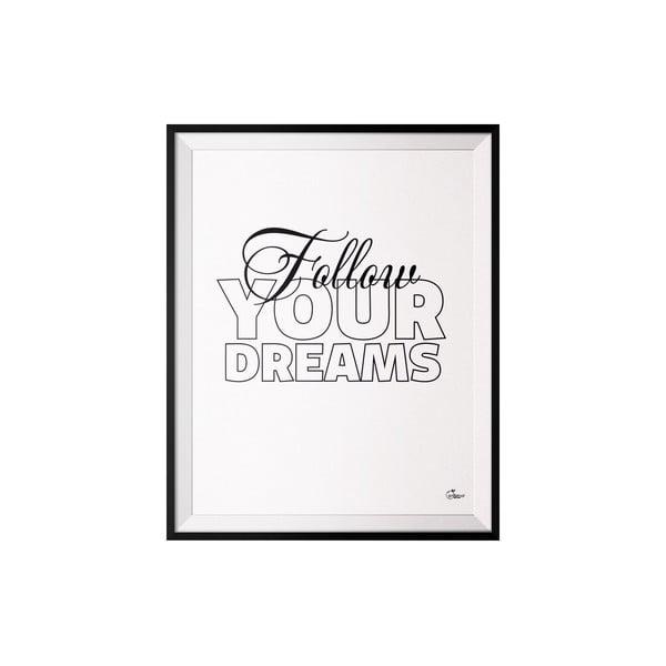 Plakát Follow, 40x50 cm