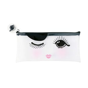 Geantă produse cosmetice Miss Étoile Open And Closed Eye, 21 x 1 cm