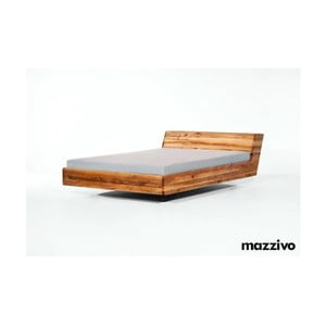 Postel Lugo z olšového dřeva, 140x200 cm, natural