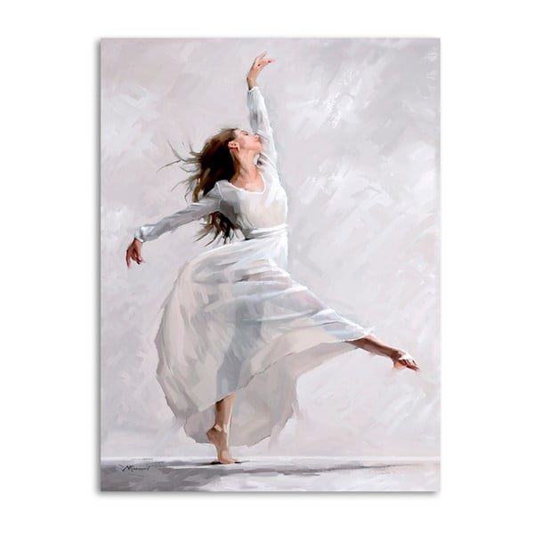 Obraz Styler Canvas Waterdance Dancer I, 60 x 80 cm