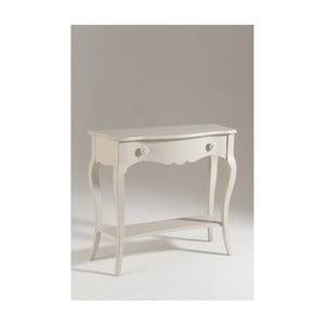 Măsuță consolă din lemn Olle, alb