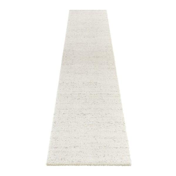 Krémový běhoun běhoun Elle Decor Passion Orly, 80 x 200 cm