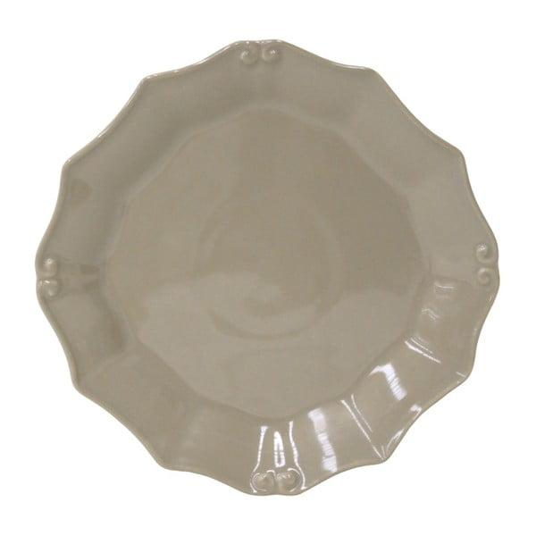 Farfurie din ceramică pentru desert Costa Nova Barroco, Ø 21 cm, gri - maro