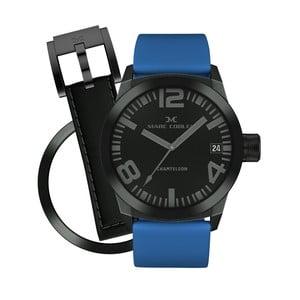 Dámské hodinky Marc Coblen s páskem a kroužkem navíc P67