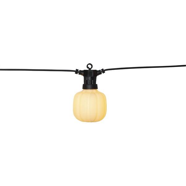 Șirag luminos LED de exterior pentru petreceri Best Season Circus Maxi, negru