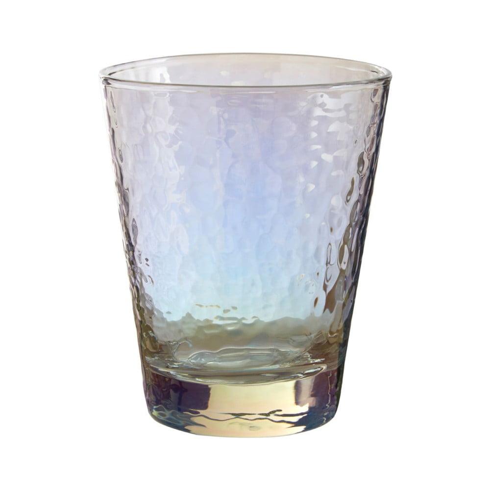 Sada 4 sklenic na whiskey Premier Housewares Hammered, 345 ml