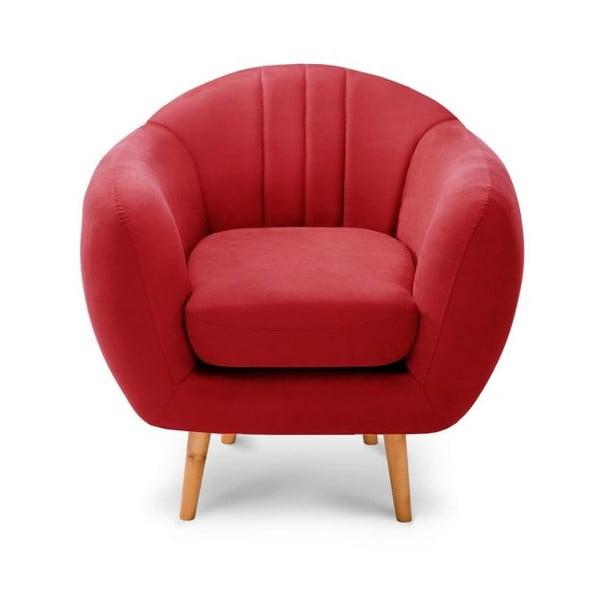Piros fotel - Scandi by Stella Cadente Maison