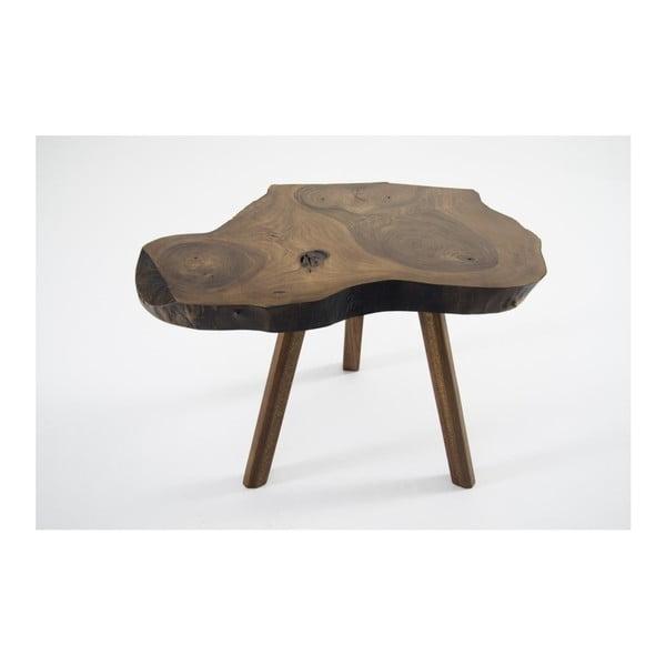 Mbulu kisasztal masszív diófából
