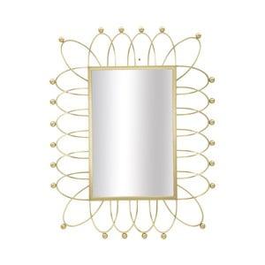 Nástěnné zrcadlo ve zlaté barvě Mauro Ferretti Amelie