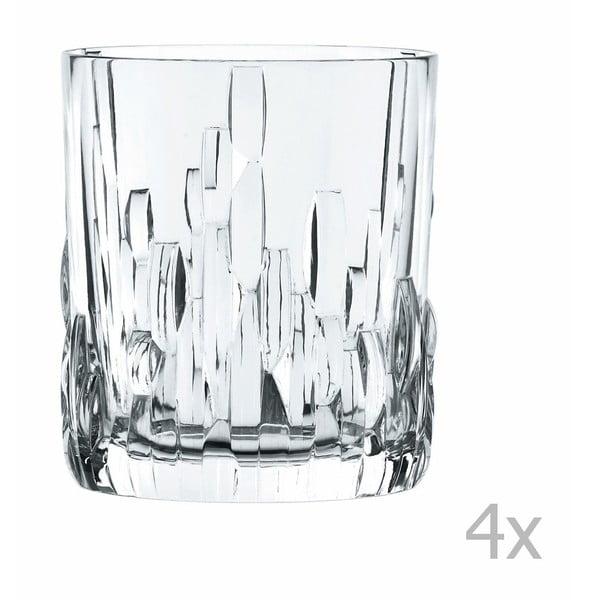 Shu Fa 4 db kristályüveg whiskeys pohár, 330 ml - Nachtmann