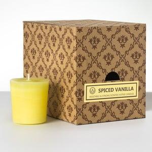 Sada 12 vonných svíček Spice Vanilla, 15 hodin hoření