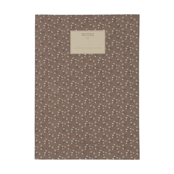 Zápisník A Simple Mess Jena Cognac, 25×18 cm