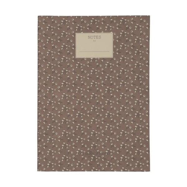 Zápisník A Simple Mess Jena Cognac, 25x18cm