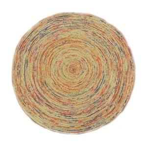 Jutový koberec The Rug Republic Nina, 120x120cm