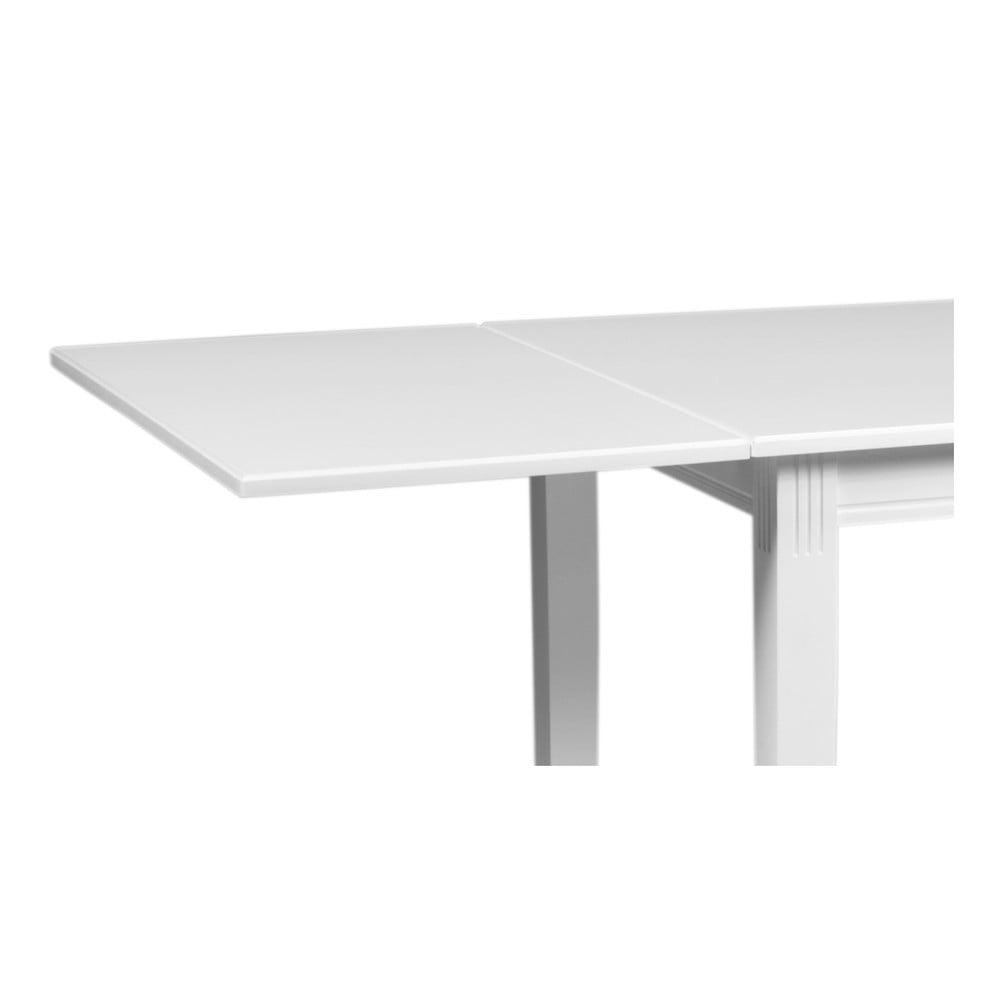 Bílá dubová přídavná deska k jídelnímu stolu Pegasus