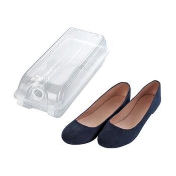 Cutie transparentă pentru depozitarea pantofilor Wenko Smart, lățime 14 cm de la Wenko