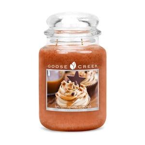 Vonná svíčka ve skleněné dóze Goose Creek Slaný karamelový cupcake, 0,68 kg