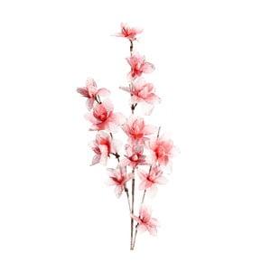 Umělá květina s růžovými květy Ixia Ntombi, výška137cm