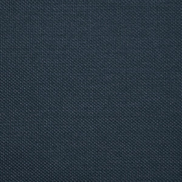 Námořnicky modrá trojmístná pohovka s nohami ve stříbrné barvě Vivonita Meyer
