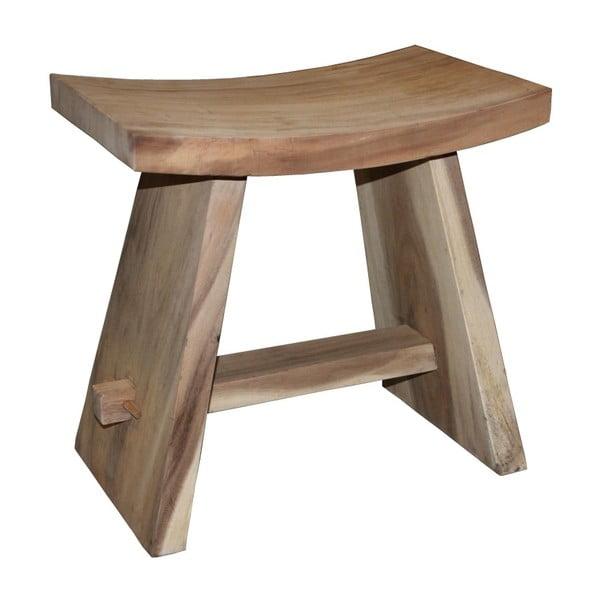 Dřevěná stolička ze dřeva mungur HSM collection Osaka