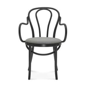 Černá jídelní židle Fameg Jenis