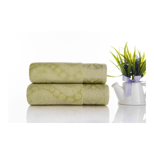 Sada 2ks ručníků Sal Green, 50x90 cm
