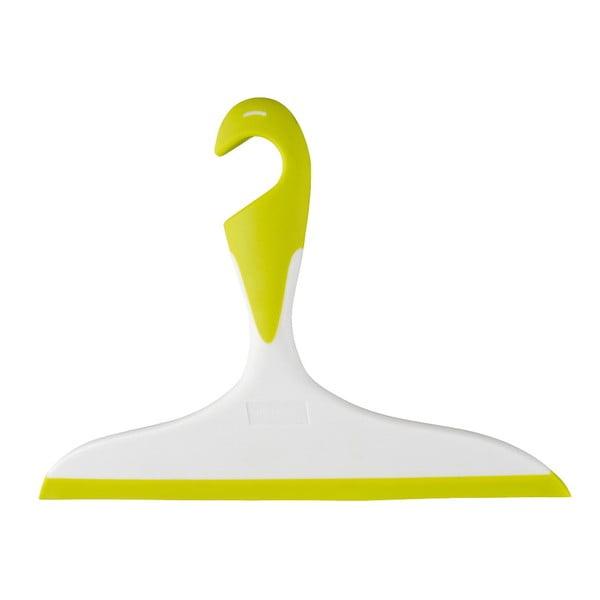 Žluto-bílá koupelnová stěrka Wenko Loano