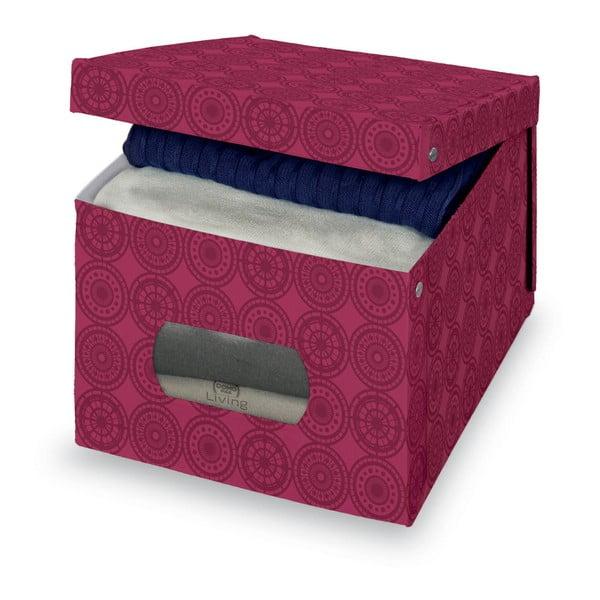 Fioletowe pudełko Domopak Ella, 31x50cm