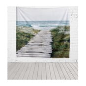 Tapiserie Really Nice Things Beach Way, 140 x 140 cm
