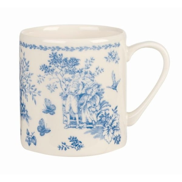 Hrnek Churchill China Toile Blue de Jardin, 340 ml