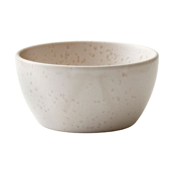 Krémovobiela kameninová servírovacia misa Bitz Basics Cream, ⌀ 10 cm