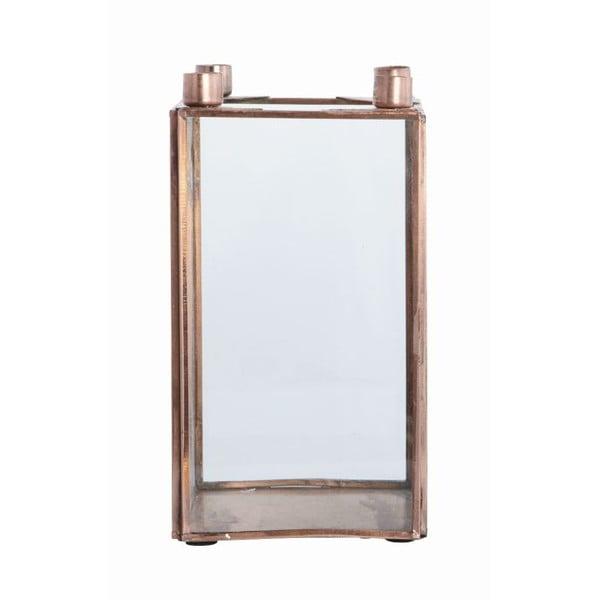 Svícen Copper, 10x18 cm