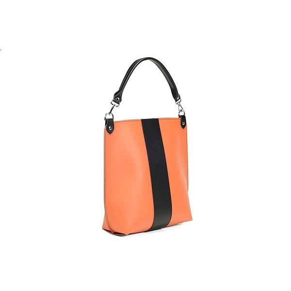 Kožená kabelka Alice Line Orange/Black