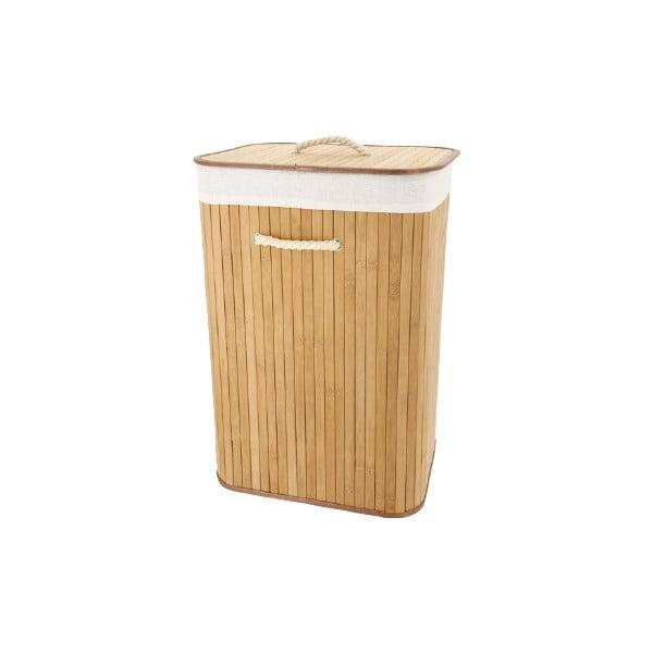 Bambusowy kosz na bieliznę Compactor Rectangular