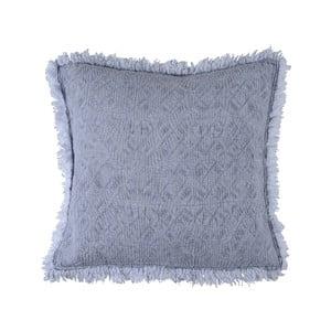 Modrý polštář Walra Yara, 50x50cm